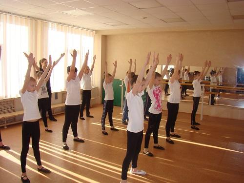 Малый зал хореографии